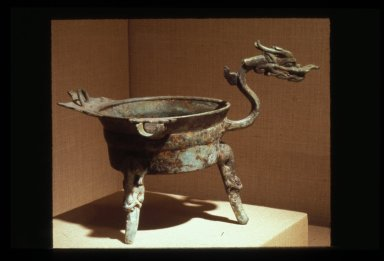 Jiao-Dou: Food Vessel with Dragon Head