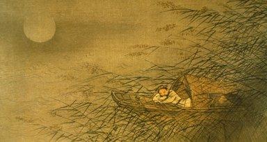Fisherman Asleep in Skiff