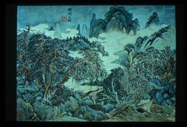 Landscape (Style of Mengfu)