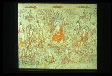 Sakyamuni Buddha Preaching