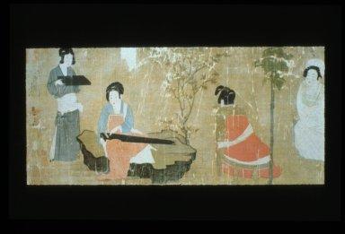 Palace Ladies Listening to Music