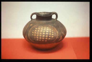 Guan (Jar): Diamonds in Oval Pattern
