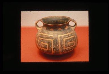 Guan (Jar): Maze Pattern