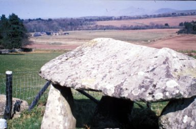Capstone of a Burial Chamber at Sarn