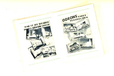 Cinema Brochures