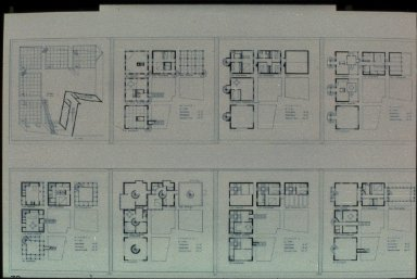 Project for Town Houses