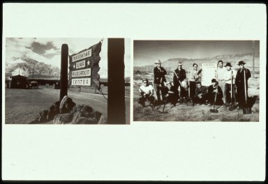 Manzanar Entrance; Maintenance Crew