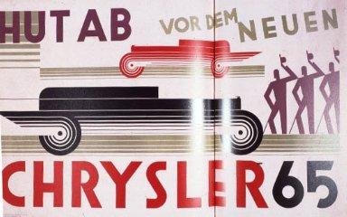 Hut ab vor dem neuen Chrysler 65