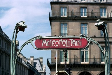 Paris Metro Stops