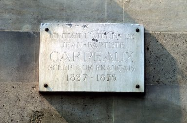 Atelier de Jean-Baptiste Carpeaux