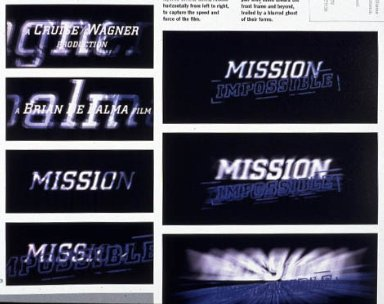 Opening Sequence for Mission Impossible