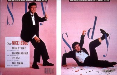 Spy Magazine Design (April 1988)