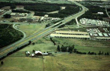 Changed Land Use at Interstate Interchange, Manassas, Virginia