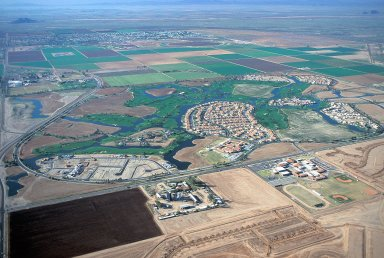 New Golf Course Community, Chandler, Arizona