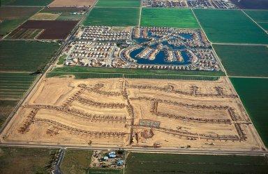 New Subdivision Layout, Chandler, Arizona