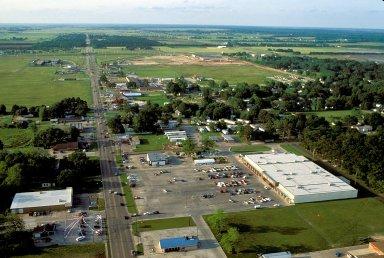 Walmart off I-10, Jennings, Louisiana