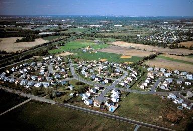 Subdivision on Farmland South of Philadelphia