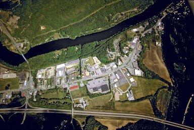 Plan View of Retail Strip on Putney Road, Brattleboro, Vermont