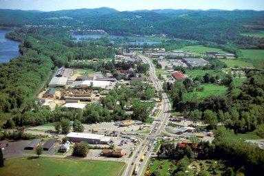 Retail Strip on Putney Road, Brattleboro, Vermont