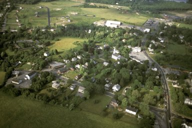 Town Center with New Outlying Street Patterns, Mendon, Massachusetts