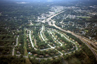 Segregated and Dispersed Land Uses, Nashua, New Hampshire