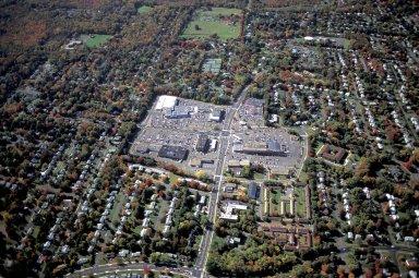 Non-Pedestrian Retail Center at Bishops Corner, West Hartford, Connecticut