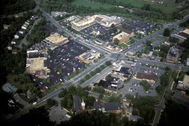 Typical Development of Rapid Growth, 4 Corner Town, Potomac, Maryland