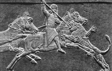 Palace of Ashurbanipal: Lion Hunt of Ashurbanipal