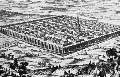 Babylon: Aerial Perspective of City