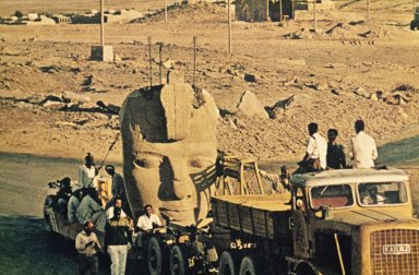 Temple of Ramesses II: Temple Relocation Process (1964-1968)