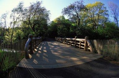 Prospect Park: Music Pagoda Bridge