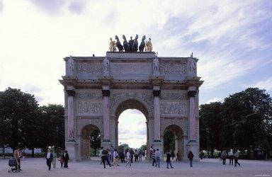 Palais des Tuileries: Jardin des Tuileries (Tuileries Gardens): L'Arc de Triomphe du Carrousel