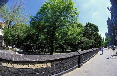 Central Park: Merchants Gate