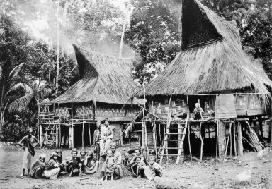 Houses of the Karo Batak