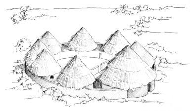 Compound of the Moba and Kotokoli