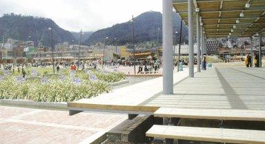 Bogota: Green Master Plan: Tercer Milenio Park