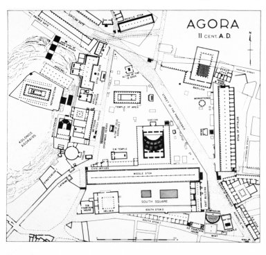 Plan of Agora