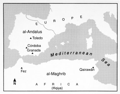 Key Monuments in Islamic Portions of North Africa and Spain in the 10th Century