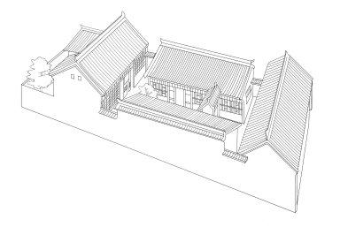 Xian Area Courtyard House