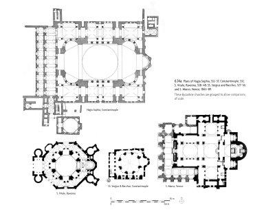 Hagia Sophia, San Vitale, Saints Sergius and Bacchus, and San Marco