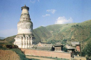 Tayuan Temple: White Dagoba