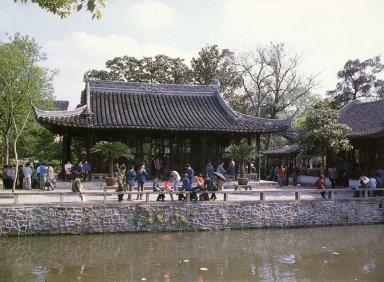 Zhuozheng Yuan (The Humble Administrator's Garden): Yuan Xiang Tang (Hall of Far-off Fragrance)