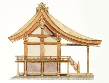Nagare Style Shrine