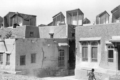 Houses with Wind Catchers in Pakistan
