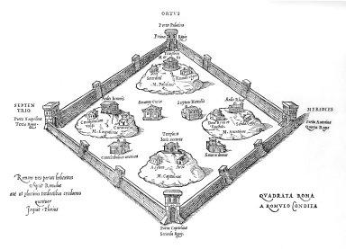 Roma Quadrata of Romulus