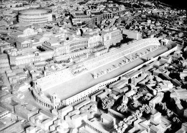Model of Imperial Rome at the Time of Constantine: the Circus Maximus