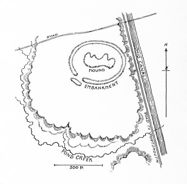 Hopewell Mounds: the Tremper Mound and Earthworks