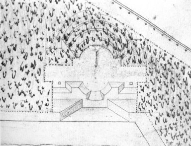 Rousham: Amphitheater