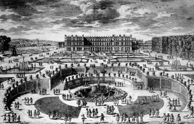 View of Versailles