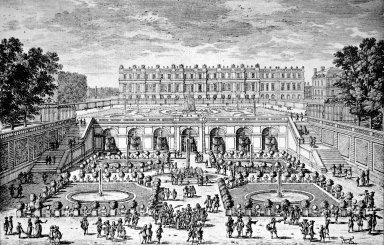 View of the Orangery at Versailles